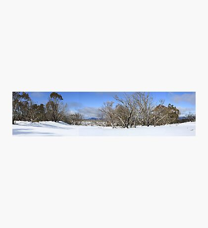 August snow scene Photographic Print