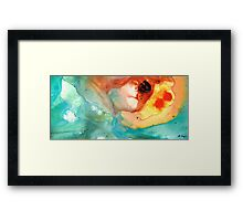 The Right Place Framed Print
