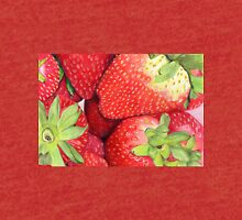 Strawberries in Coloured Pencil Tri-blend T-Shirt