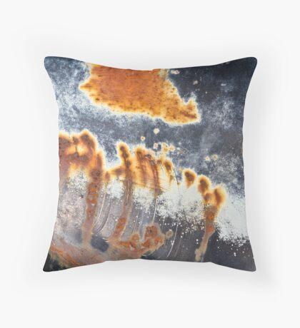 Patina Wall Art Throw Pillow