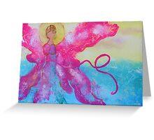 Breast Cancer Angel Greeting Card