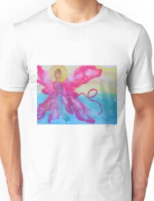 Breast Cancer Angel Unisex T-Shirt