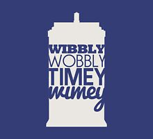 Wibbly Wobbly Timey Wimey...Stuff Unisex T-Shirt