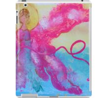 Breast Cancer Angel iPad Case/Skin