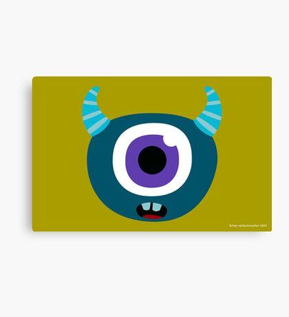 Monster Face #3 Canvas Print