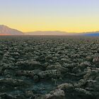 Starkness of Death Valley by ekingrn