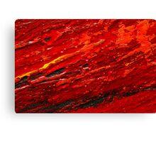 Lava Oils Wall Art Canvas Print