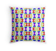 Colored clapping hearts Throw Pillow