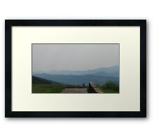 Path to the Edge Framed Print