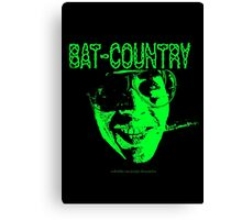 Bat Country MonoTone Canvas Print