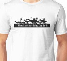 Dinosaur Silhouettes  Unisex T-Shirt