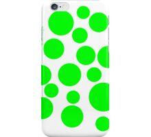 Green Dots iPhone Case/Skin