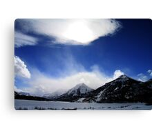 Waterton Canvas Print