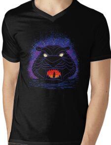 Tiger Cave Mens V-Neck T-Shirt