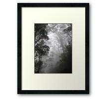 The Mists of Mordor.....(or Olinda) Framed Print