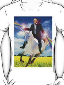 Obama unicorn win T-Shirt