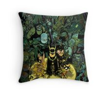 Lil' Bats Throw Pillow