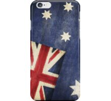 Australia  flag iPhone Case/Skin