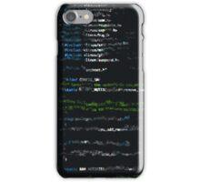Glitch Code iPhone Case/Skin