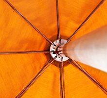 Umbrella Orange by Rob Atkinson