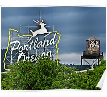Portland Historic District Poster