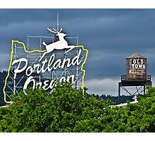 Portland Historic District Photographic Print