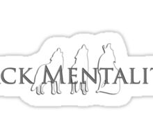 Pack Mentality Sticker