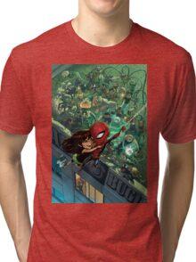 Lil' Spidey Tri-blend T-Shirt