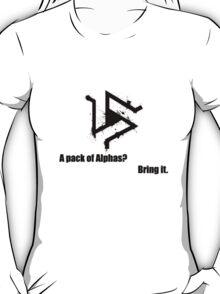 Triskelion 2 Black (Splatter) T-Shirt
