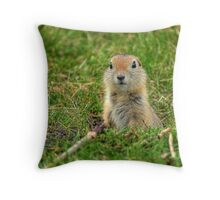 Check out my good side! Throw Pillow