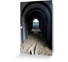 Small Nissen Hut ICI Nobel Greeting Card