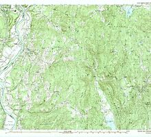 USGS TOPO Map New Hampshire NH Walpole 329916 1985 25000 by wetdryvac