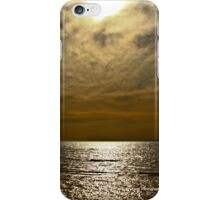 Sunset on Seaford Beach 2 iPhone Case/Skin