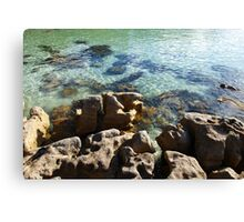 Crystal waters V Canvas Print
