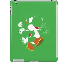 Green Yoshi Splatter Design iPad Case/Skin