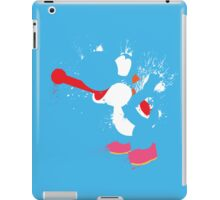 Blue Yoshi Splatter Design iPad Case/Skin