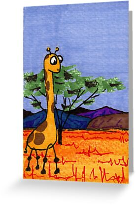 Savanna Wanderer by Paul Simms