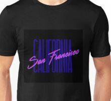 Retro 80s San Francisco, California Unisex T-Shirt