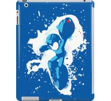 Mega Man Splattery T-Shirt iPad Case/Skin
