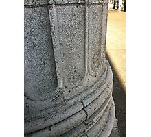 This column is watching. Photographic Print