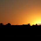 Sunset in Egypt by SHappe
