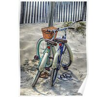 Beach Transportation Poster