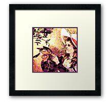 Proper Lady Framed Print
