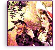 Proper Lady Canvas Print