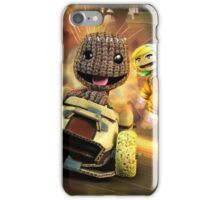 LittleBigPlanet Karting Burn Rubber iPhone Case/Skin