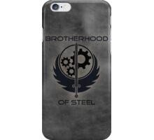 Brotherhood Of Steel Logo iPhone Case/Skin