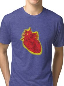 My Robot Heart Tri-blend T-Shirt