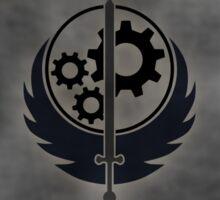 Brotherhood Of Steel Logo Sticker