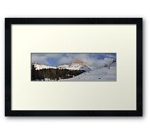 Highwood valley Framed Print