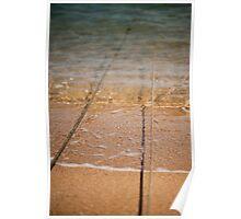 Beach Moorings Poster
